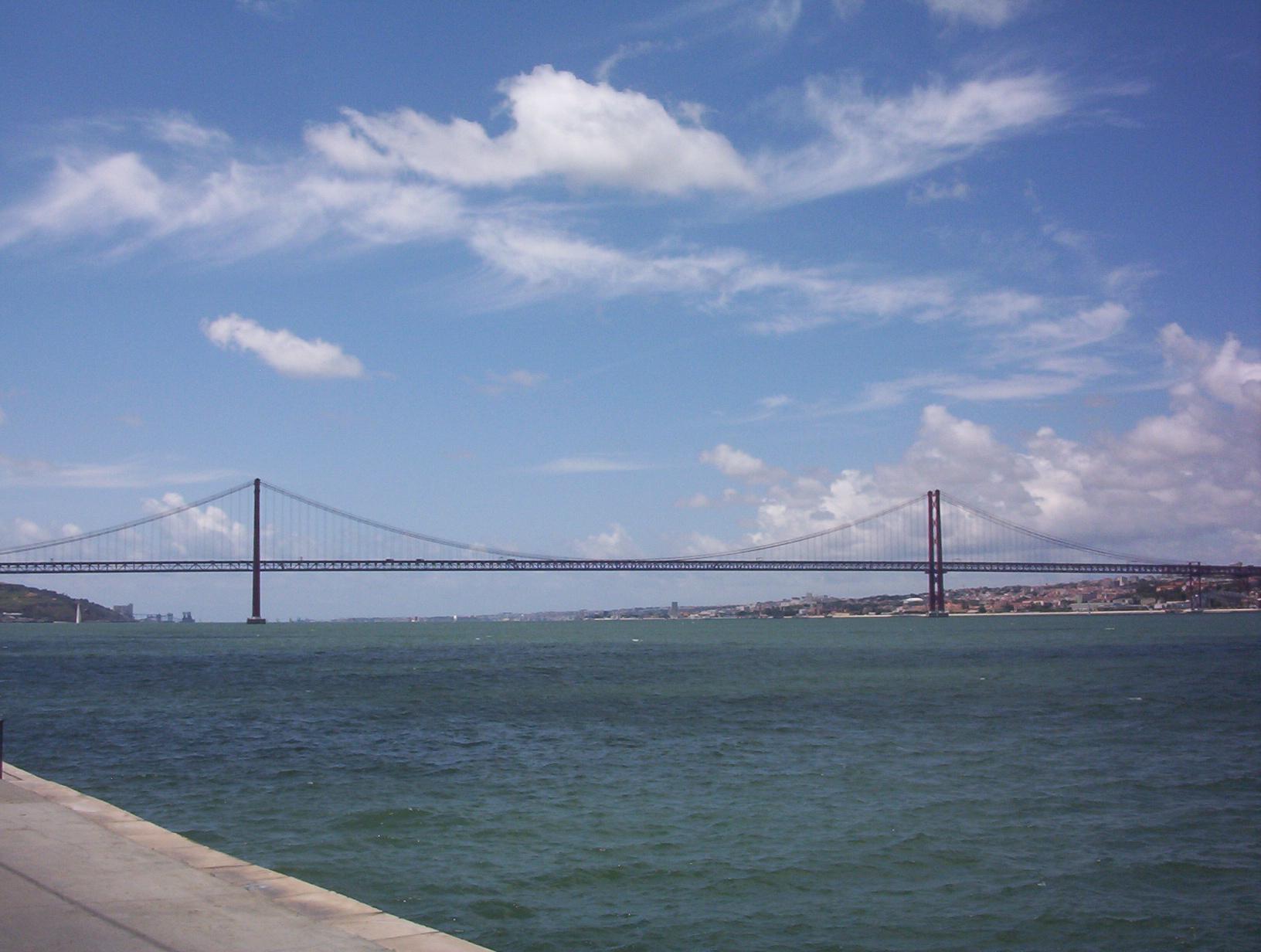 Puente 25 De Abril El Puente Más Famoso De Lisboa
