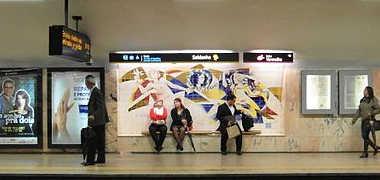 Estacion Metro Lisboa