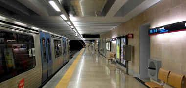 Metro aeropuerto Lisboa