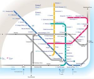 Plano metro Lisboa