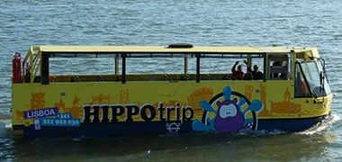 Bus anfibio Lisboa