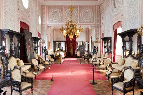 Interior del Palacio da Pena